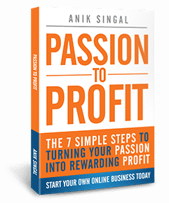 passion to profits anik-singal