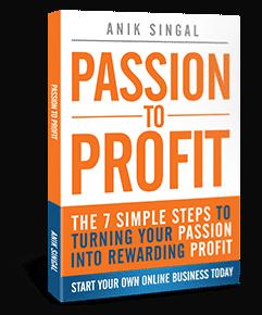 passion to profits anik-singal