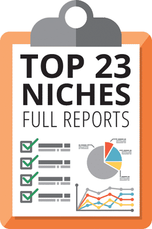 Lurn Insider Top 23-niches