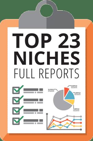 Lurn Insider Top 23-niches